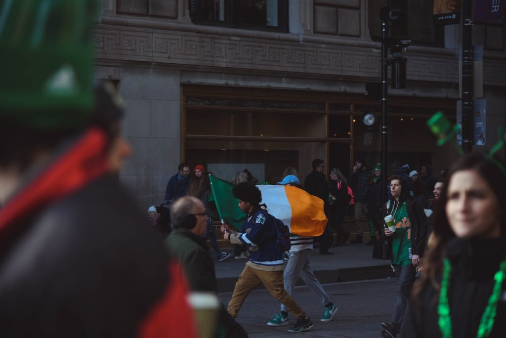 St. Patrick's Day Parade, and other spring events around Naperville.